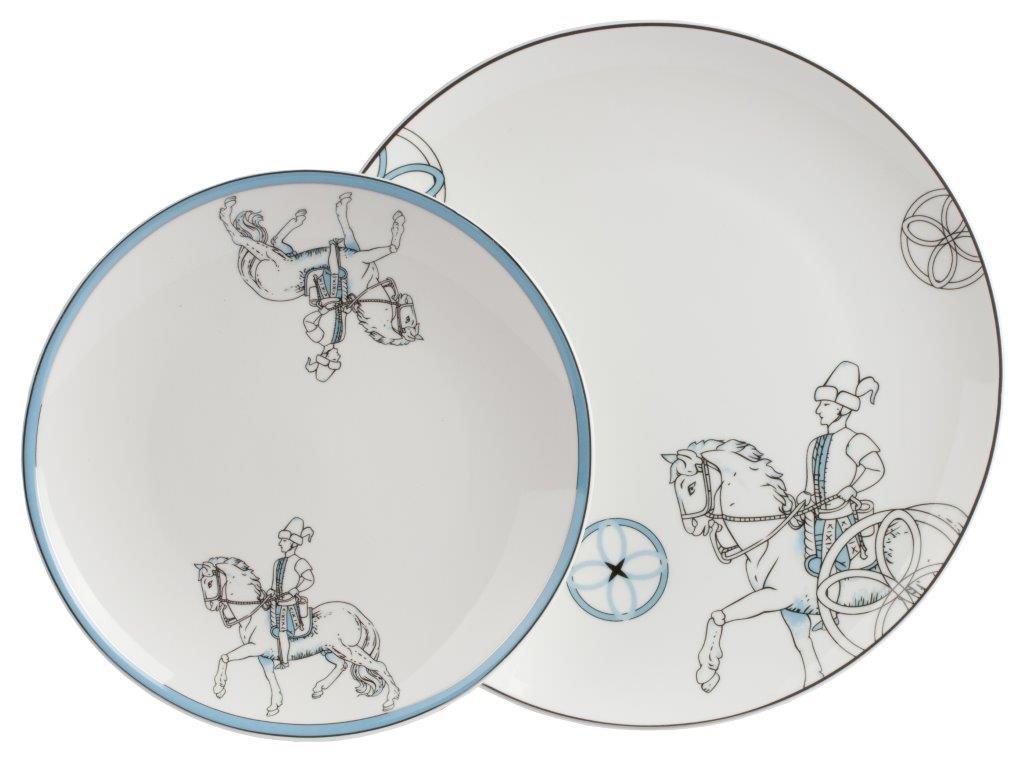 Купить Комплект тарелок Cavalier в интернет магазине дизайнерской мебели и аксессуаров для дома и дачи