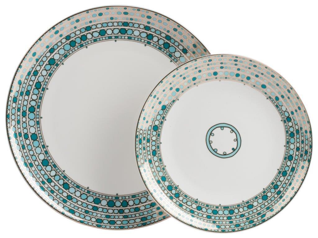 Купить Комплект тарелок Mosaico в интернет магазине дизайнерской мебели и аксессуаров для дома и дачи