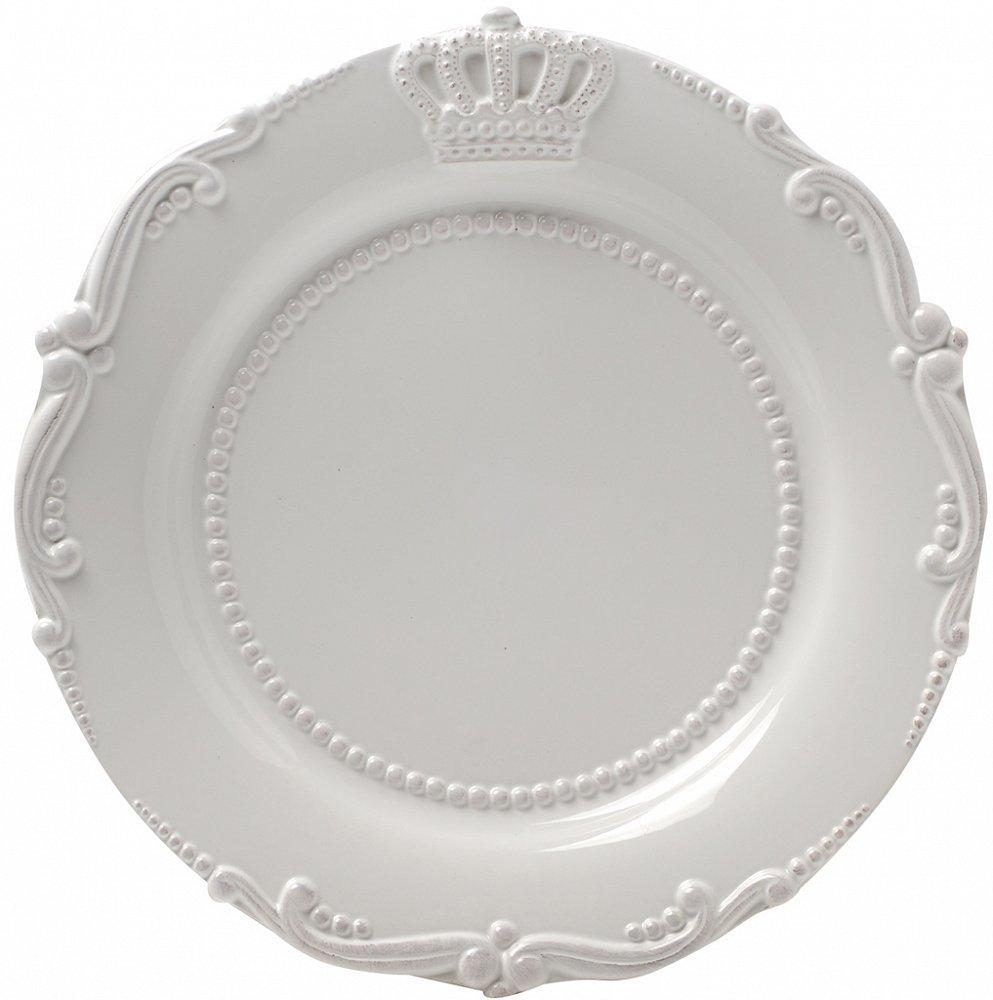 Тарелка AishaТарелки<br><br><br>Цвет: Белый<br>Материал: Грубая керамика<br>Вес кг: 0,5<br>Длина см: 24<br>Ширина см: 24<br>Высота см: 1