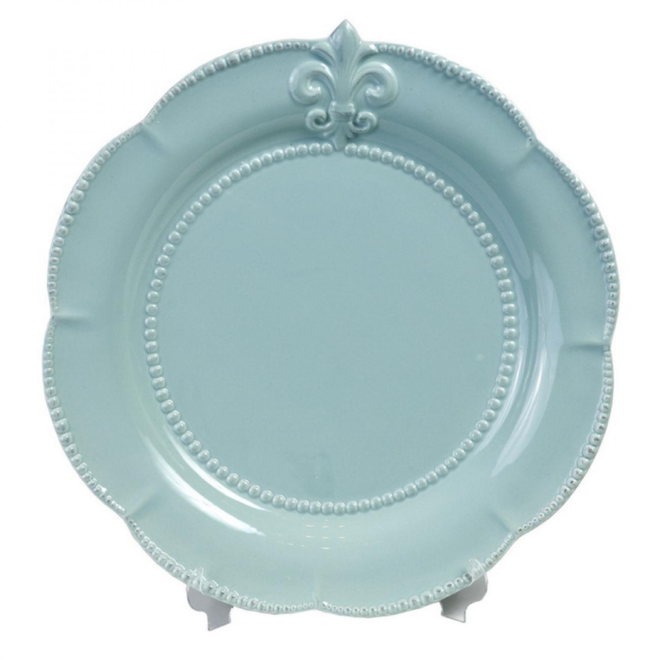 Купить Тарелка Tess Blue в интернет магазине дизайнерской мебели и аксессуаров для дома и дачи