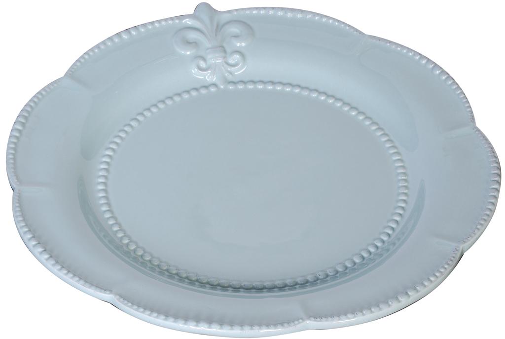 Купить Большая тарелка Tess Blue в интернет магазине дизайнерской мебели и аксессуаров для дома и дачи