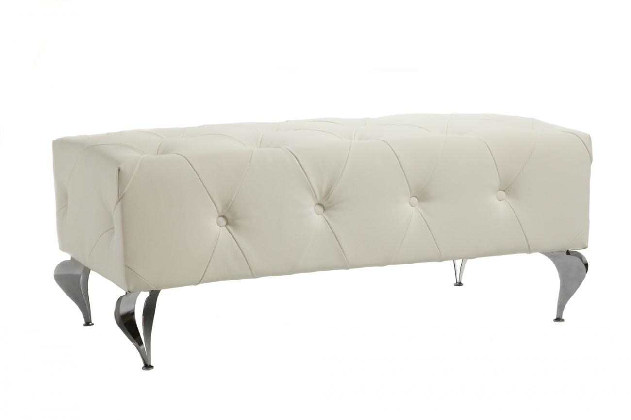 Купить Оттоманка Hustle White в интернет магазине дизайнерской мебели и аксессуаров для дома и дачи