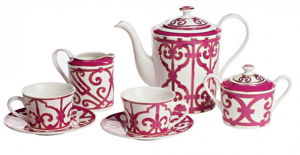 Чайный сервиз Sienna на 4 персоны (11 предметов),  DG-DW98-11 от DG-home