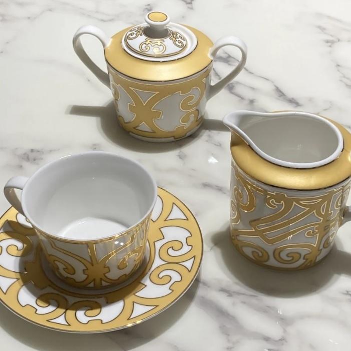 Купить Чайный сервиз Marbella на 4 персоны (11 предметов) в интернет магазине дизайнерской мебели и аксессуаров для дома и дачи
