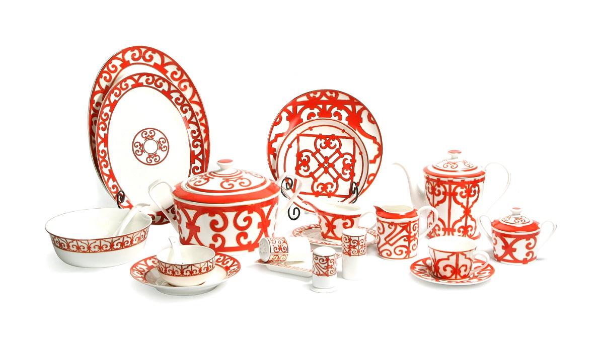 Купить Столовый сервиз Heritage на 6 персон (67 предметов) в интернет магазине дизайнерской мебели и аксессуаров для дома и дачи