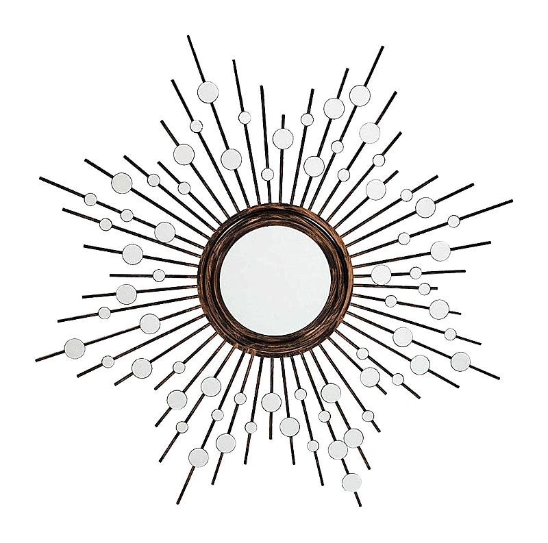 Купить Зеркало-солнце Golden Aster в интернет магазине дизайнерской мебели и аксессуаров для дома и дачи