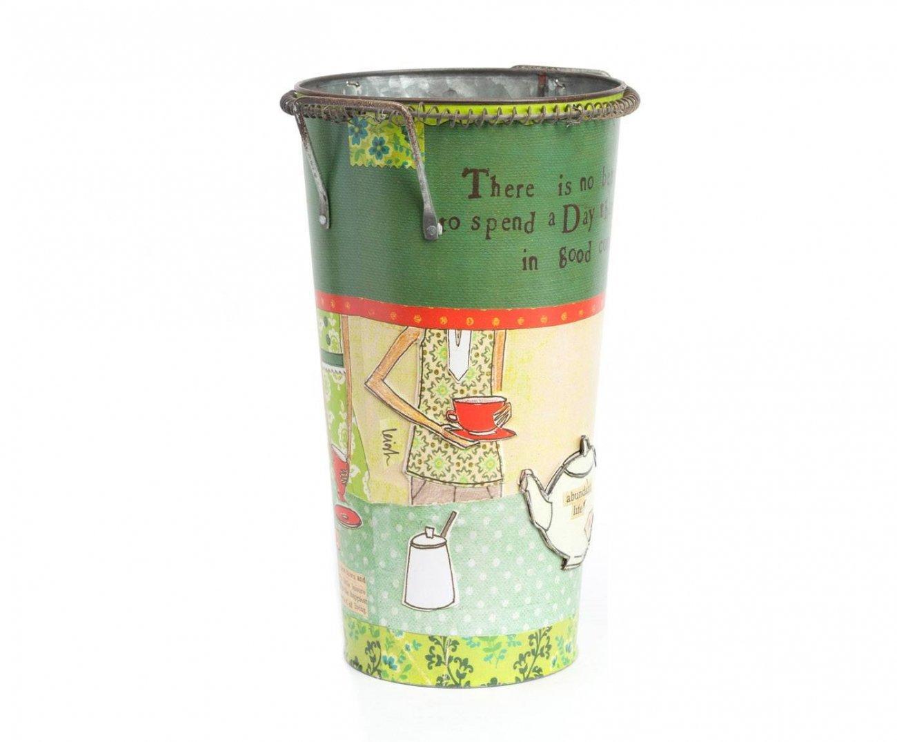 Купить Декоративный цветочный горшок Tea Time в интернет магазине дизайнерской мебели и аксессуаров для дома и дачи