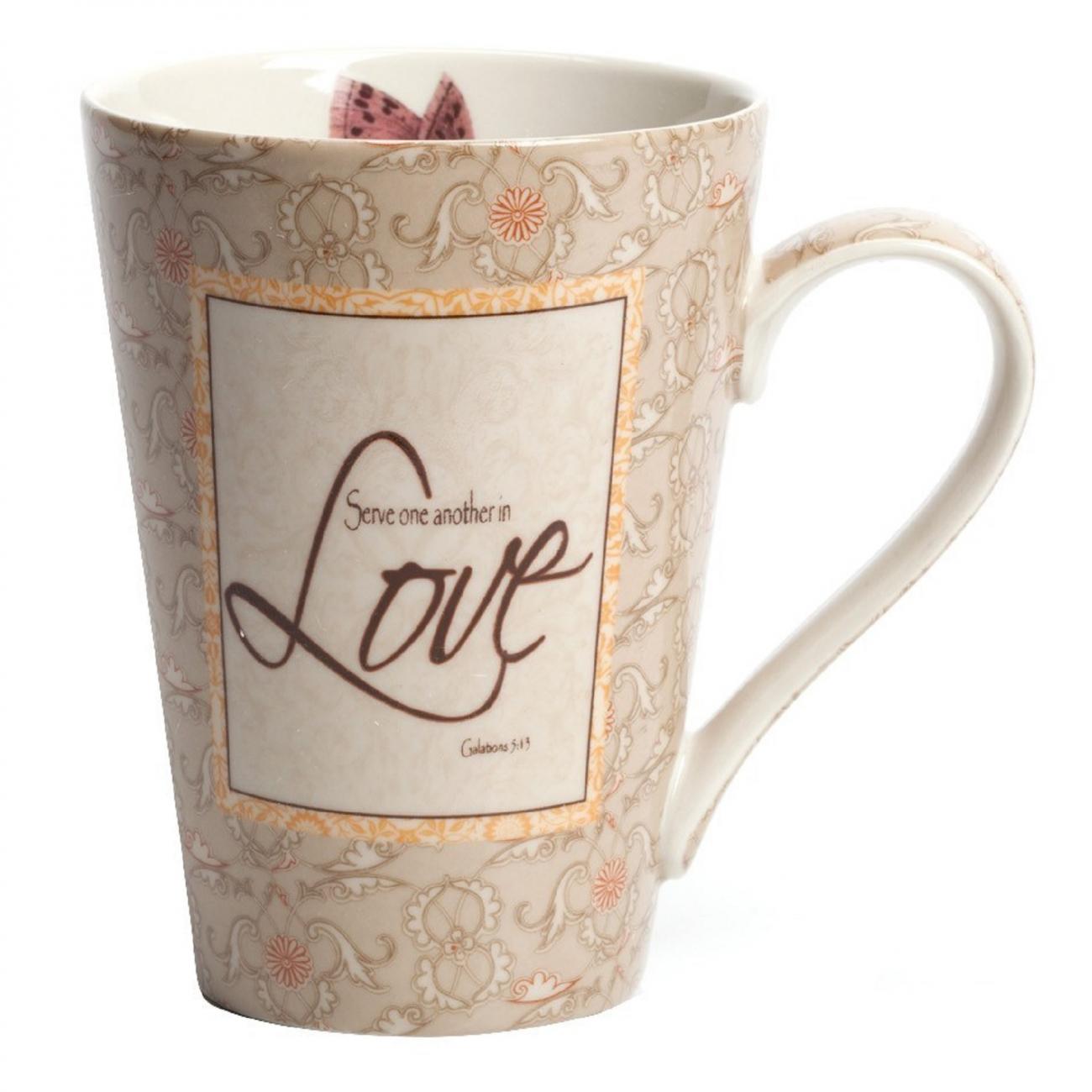 Купить Кружка Love в интернет магазине дизайнерской мебели и аксессуаров для дома и дачи