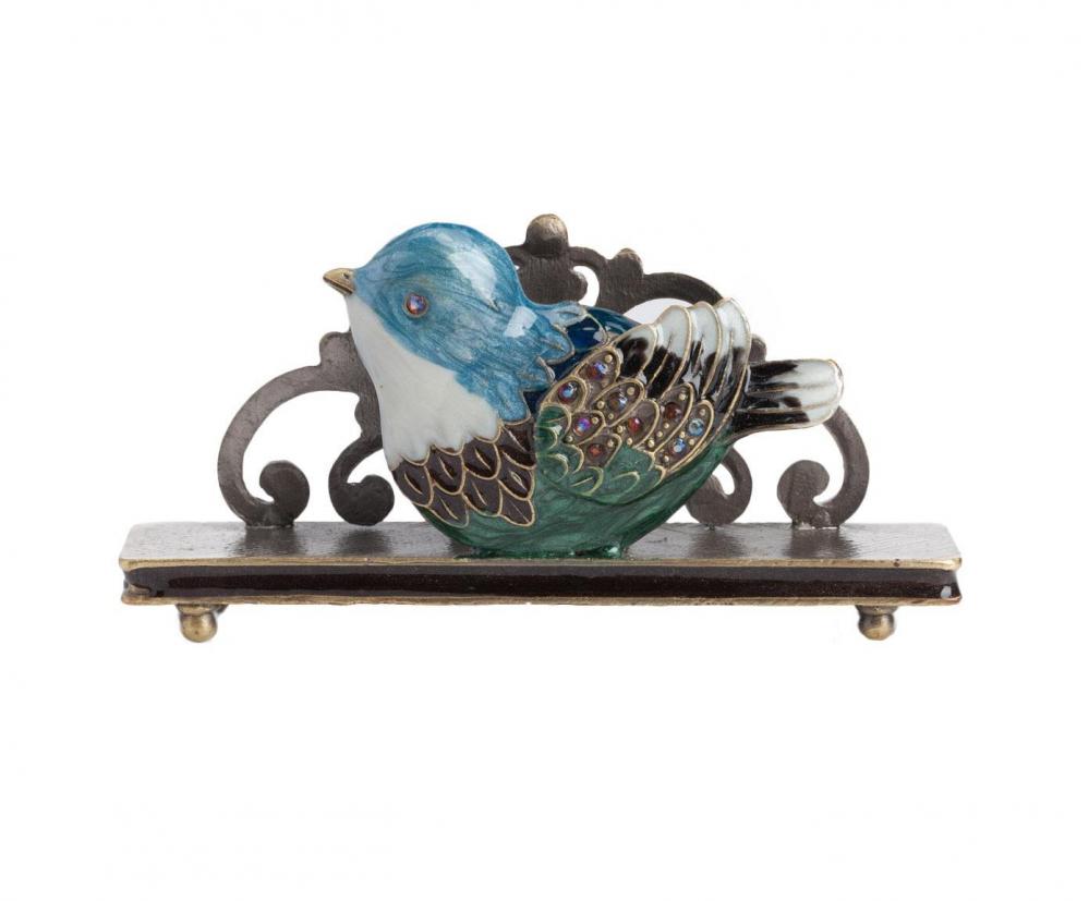 Держатель для визиток Little Bird Голубой