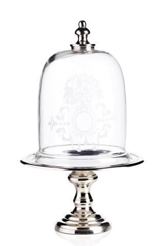 Купить Сервировочный поднос с куполом Crystal Dome в интернет магазине дизайнерской мебели и аксессуаров для дома и дачи