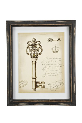 Картина в рамке Queen Sketchs Key, DG-D-425A от DG-home