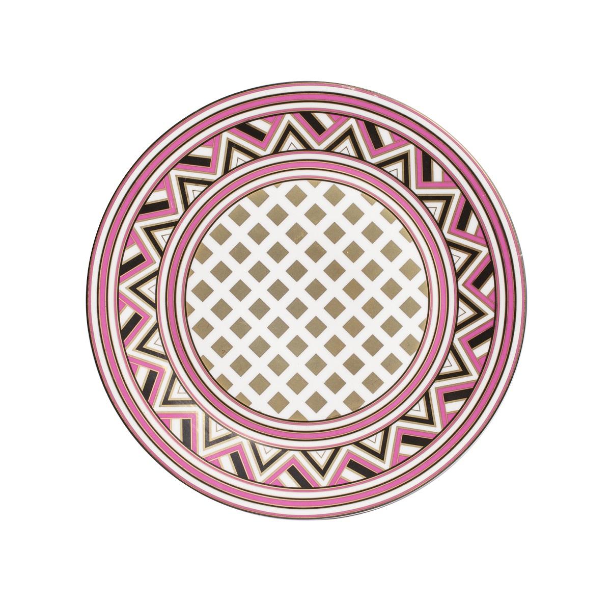 Купить Блюдо Eclectic (26*26*2.5) в интернет магазине дизайнерской мебели и аксессуаров для дома и дачи