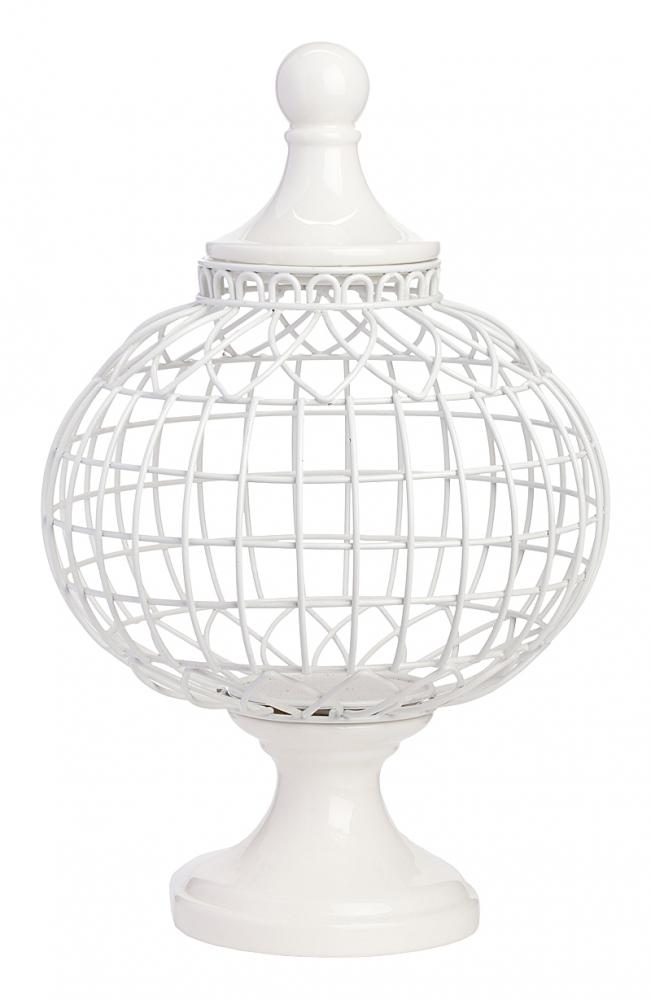 Декоративная ваза Luxury (круглая)