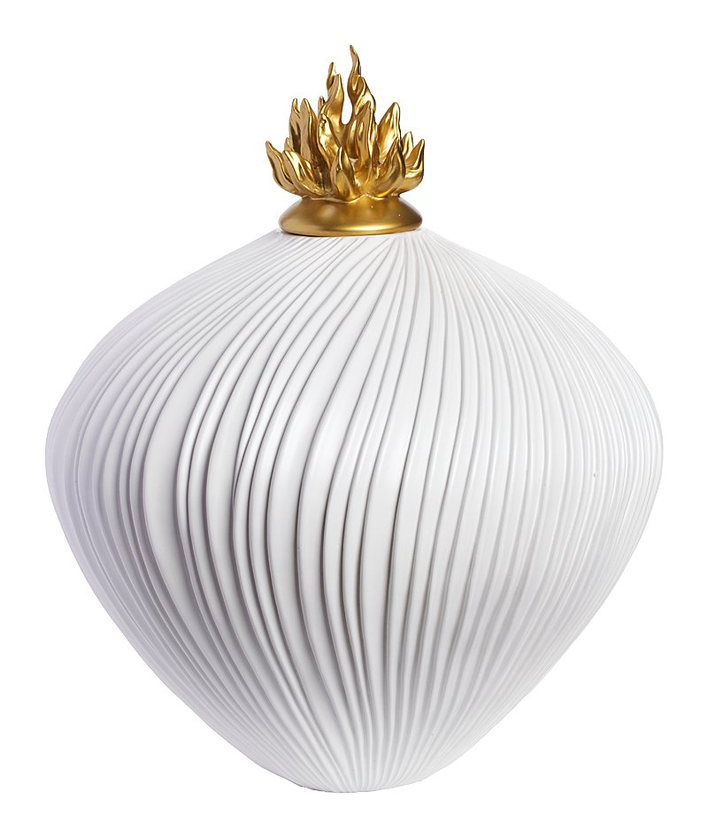Декоративная ваза Eclectic (белая), DG-D-540B