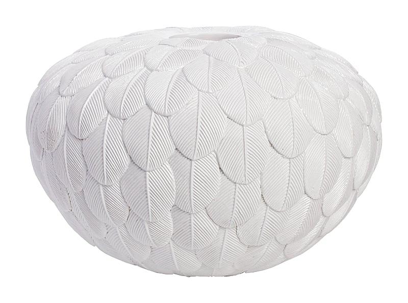 Декоративная ваза Elegant White