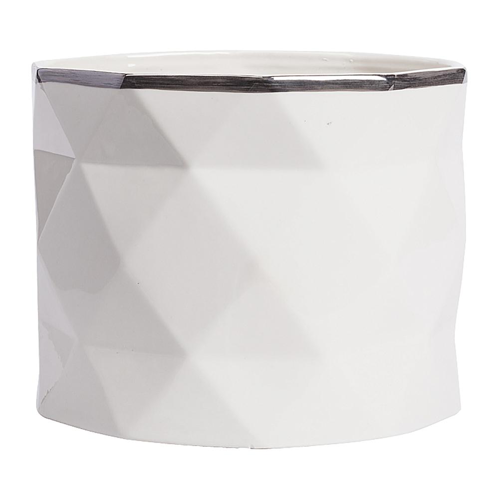 Декоративная ваза Allure Silver Middle, DG-D-509D