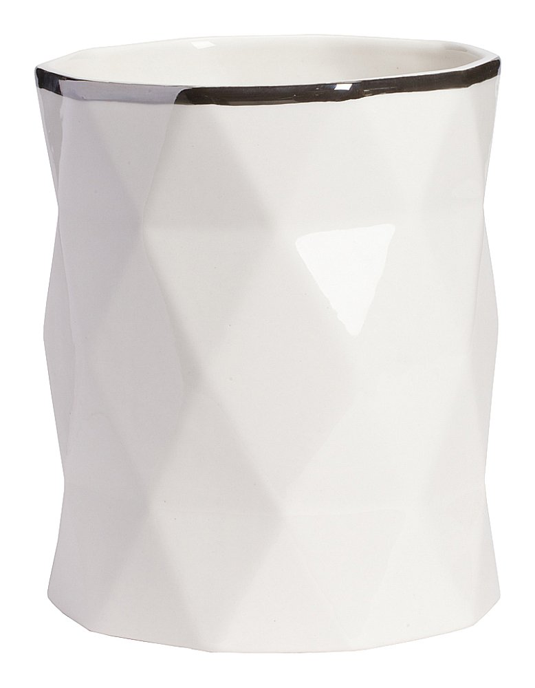 Декоративная ваза Allure Silver High