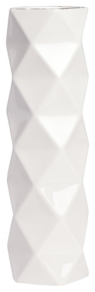 Декоративная ваза Allure Silver Tall