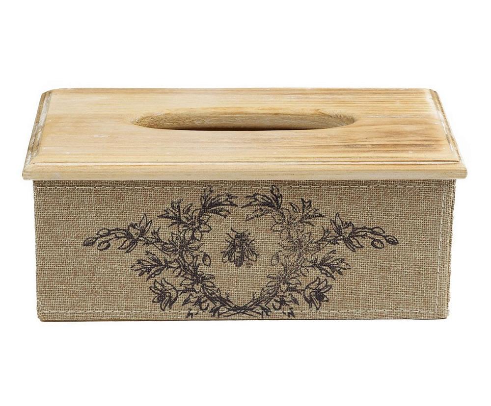 Декоративный бокс для салфеток ShapelСервировка стола<br>Декоративный бокс для салфеток Shapel — это <br>очаровательный предмет декора, который <br>идеально впишется как в современный интерьер, <br>так и в дом, оформленный в стиле Прованс. <br>Деревянное основание, обитое тканью из <br>джута, придает аксессуару провинциальную <br>простоту, однако рисунок на передней стенке <br>предмета словно говорит об аристократичности <br>и изысканности бокса. Так необходимые порой <br>салфетки теперь всегда будут под рукой.<br><br>Цвет: Бежевый<br>Материал: дерево, МДФ, джут<br>Вес кг: 0,8<br>Длина см: 14,3<br>Ширина см: 14,3<br>Высота см: 5,5