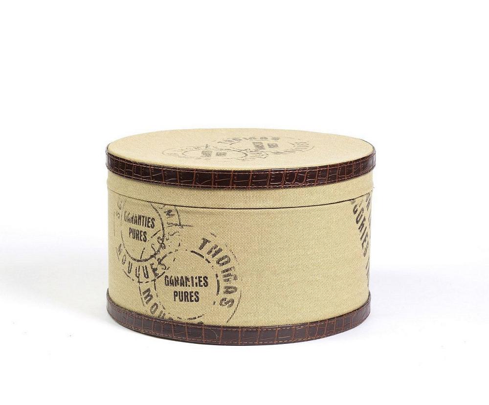 Круглая коробка для хранения Coterie Medio, DG-D-552B