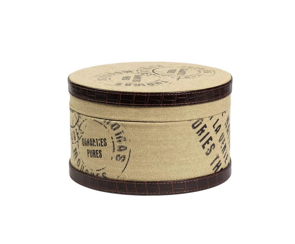 Купить Круглая коробка для хранения Coterie Piccola в интернет магазине дизайнерской мебели и аксессуаров для дома и дачи