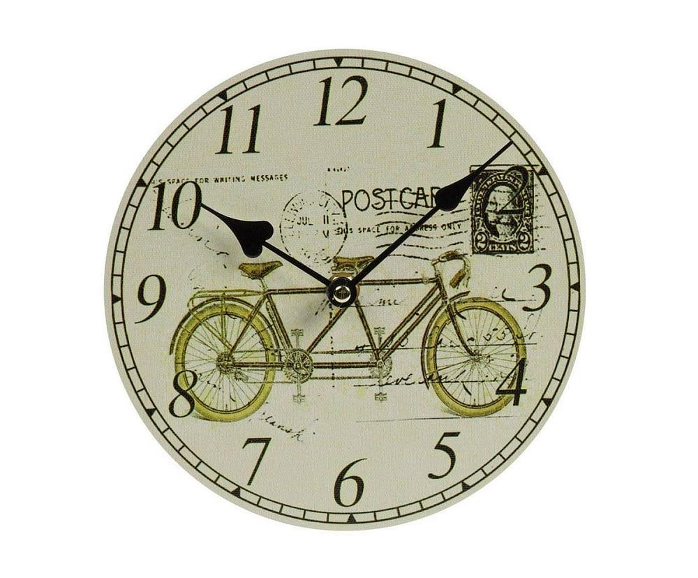 Настенные часы TandemЧасы<br>Настенные часы Tandem — это изысканный элемент <br>декора стен вашего дома, оформленного в <br>стиле Прованс. Благодаря краскам пастельных <br>тонов, оригинальному рисунку и простому <br>на вид циферблату, такой аксессуар удачно <br>впишется в общую картину помещения и будет <br>прекрасно гармонировать с обстановкой <br>в целом. Часы смогут добавить уюта любой <br>комнате, а также оживить её и украсить.<br><br>Цвет: Разноцветный<br>Материал: МДФ, Бумага<br>Вес кг: 0,5<br>Длина см: 20<br>Ширина см: 2<br>Высота см: 20
