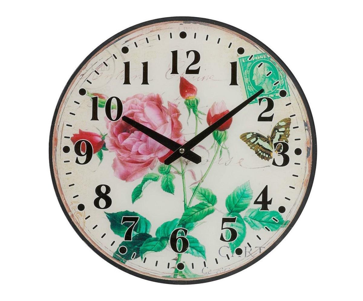 Купить Настенные часы Rose в интернет магазине дизайнерской мебели и аксессуаров для дома и дачи