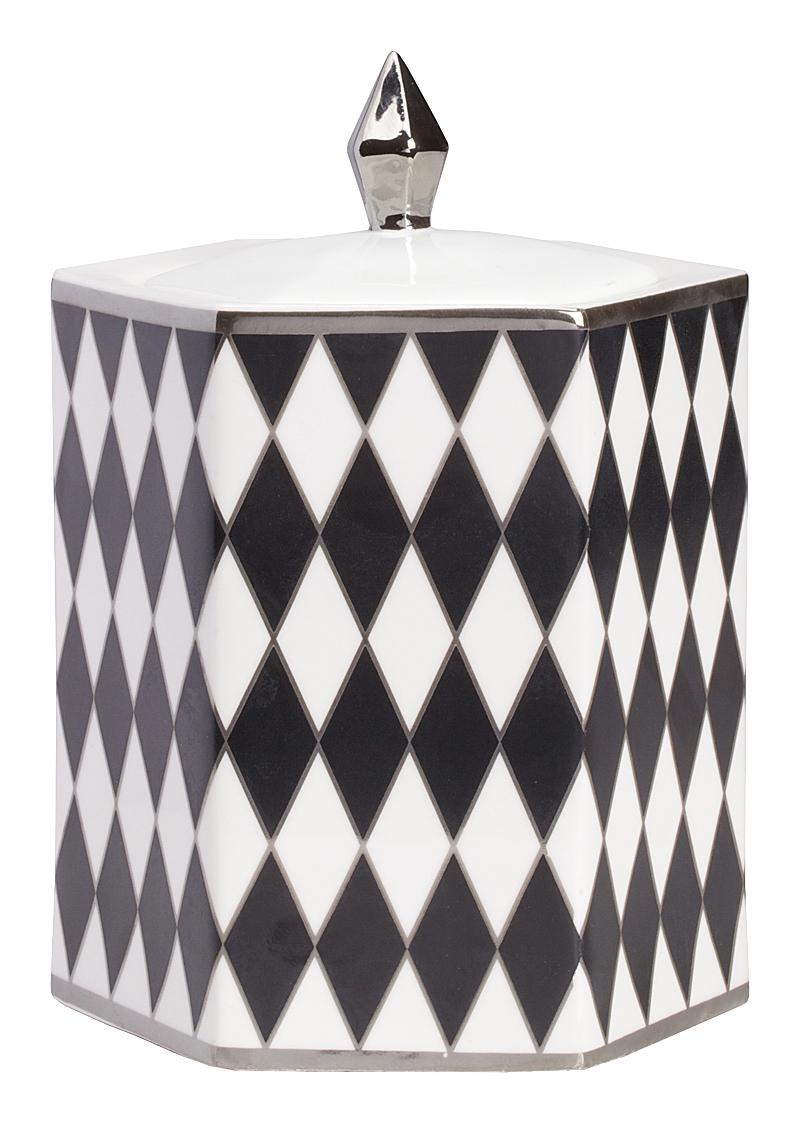 Купить Декоративная шкатулка Diamond Silver Small в интернет магазине дизайнерской мебели и аксессуаров для дома и дачи