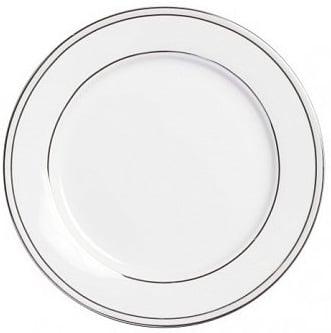 Тарелка ClearТарелки<br><br><br>Цвет: белый\серый<br>Материал: Китайский фарфор<br>Вес кг: 0,2<br>Длина см: 20<br>Ширина см: 20<br>Высота см: 1