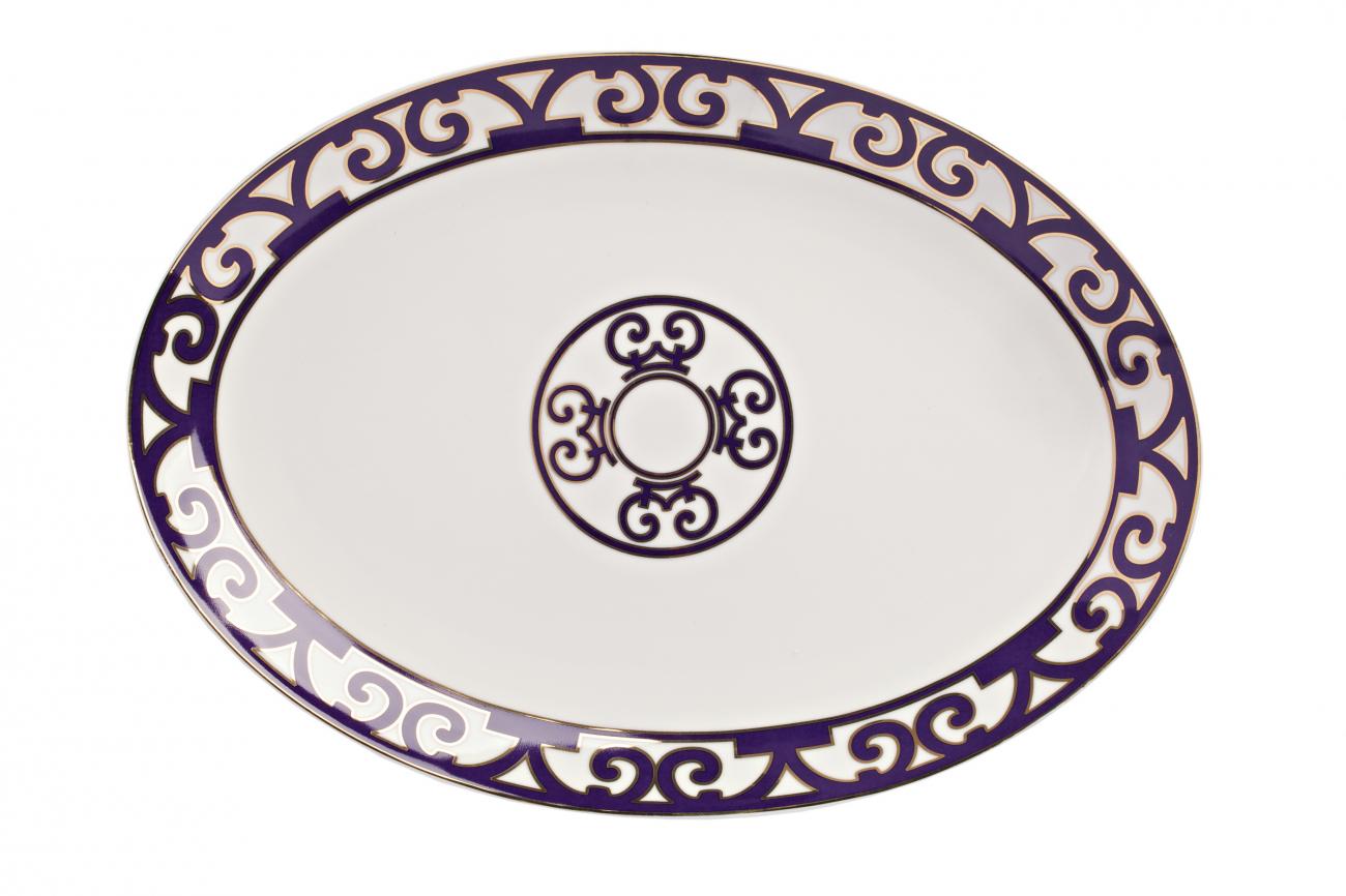 Купить Овальное блюдо Violet Dreams Малое в интернет магазине дизайнерской мебели и аксессуаров для дома и дачи