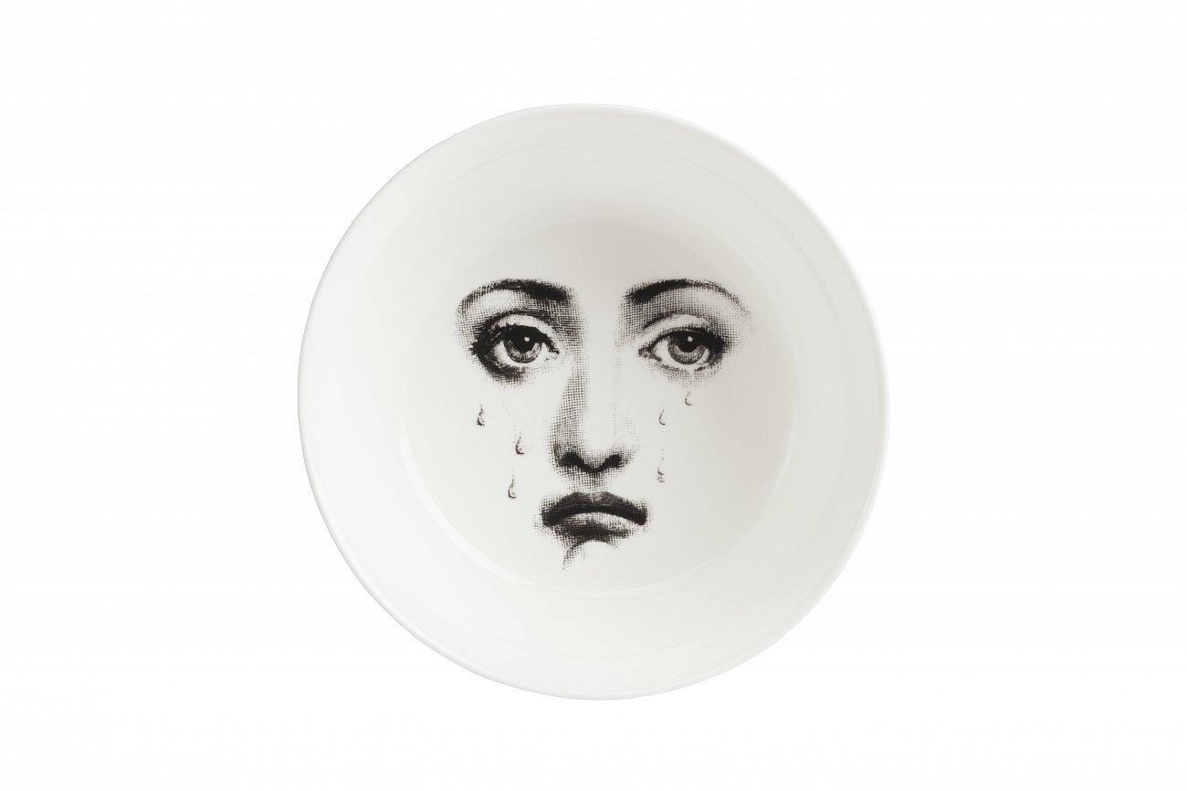 Купить Салатник Пьеро Форназетти Silver Faces в интернет магазине дизайнерской мебели и аксессуаров для дома и дачи