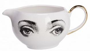 Купить Молочник Пьеро Форназетти Golden Faces в интернет магазине дизайнерской мебели и аксессуаров для дома и дачи