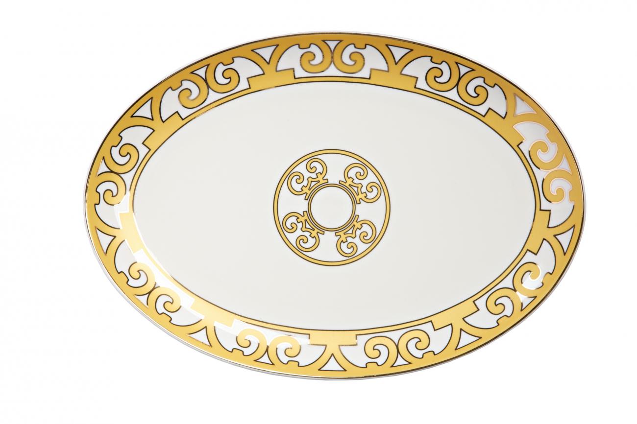Купить Овальное блюдо Marbella Большое в интернет магазине дизайнерской мебели и аксессуаров для дома и дачи