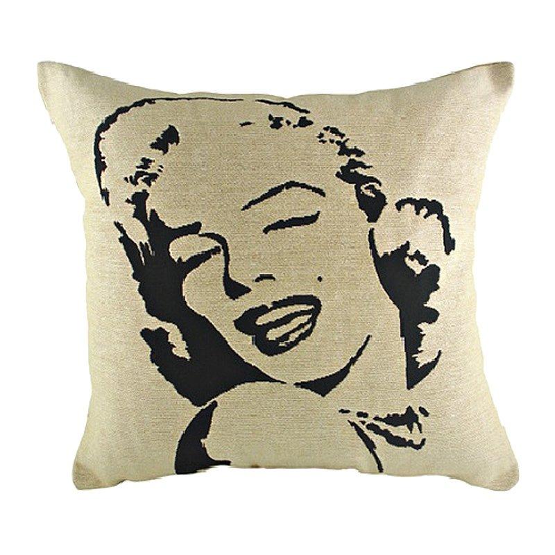 Подушка с портретом Мэрилин Монро Marilin Monroe