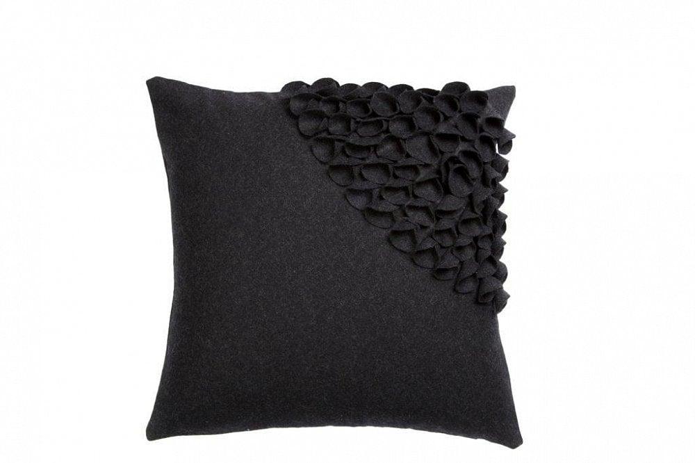 Подушка с объемным узором Alicia Dark Gray 3