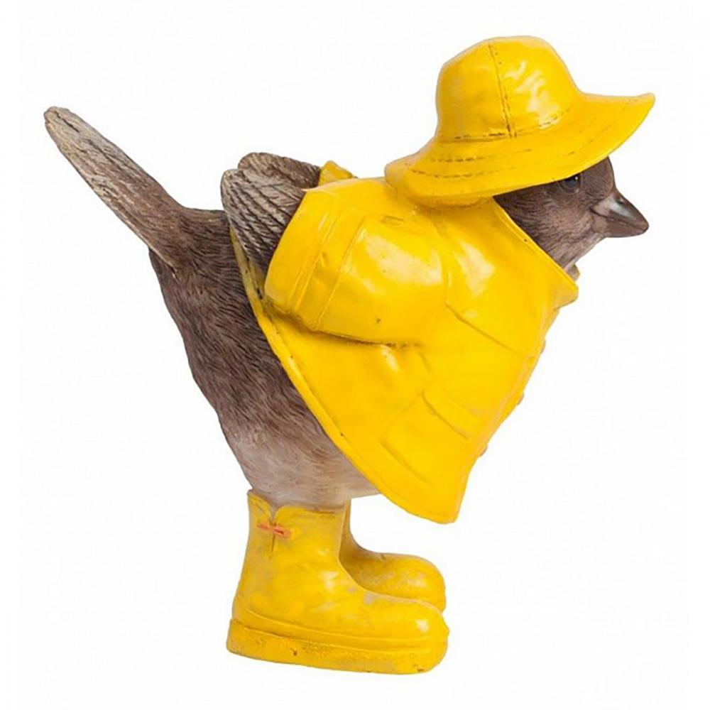 Предмет декора статуэтка птенчик Chickabiddy (желтый)
