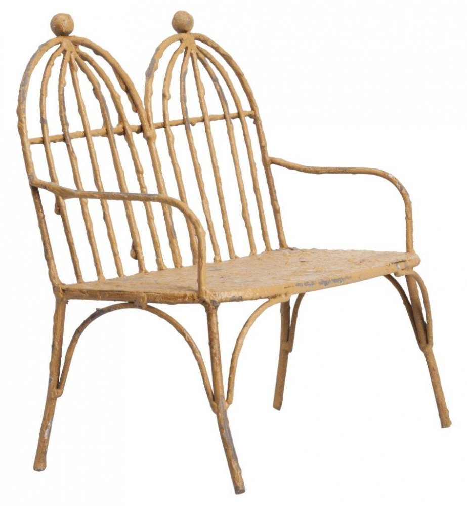 Фото Предмет декора модель скамейки Tandem. Купить с доставкой