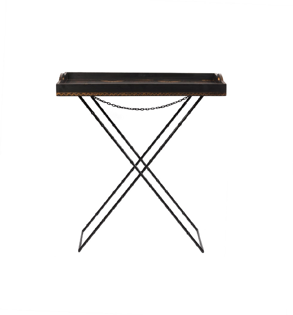 Купить Стол сервировочный, раскрашенный вручную Abianco в интернет магазине дизайнерской мебели и аксессуаров для дома и дачи