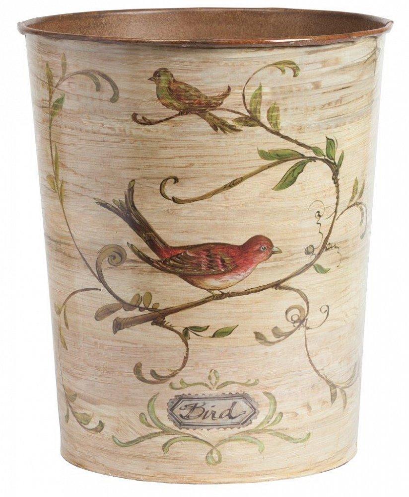 Декоративный контейнер для мусора BaileДекор для дома<br>Даже обыденные вещи могут выглядеть красиво! <br>Декоративный контейнер для мусора Baile — <br>это изящный элемент декора, способный выполнять <br>и эстетическую, и практическую функции. <br>Дизайн аксессуара позволит ему вписаться <br>в современный стиль Прованс вашего дома <br>благодаря нежному бежевому цвету и растительным <br>мотивам по всей поверхности ведерка. Небольшой <br>размер контейнера дает возможность разместить <br>его в любом, даже самом маленьком помещении.<br><br>Цвет: Бежевый, Разноцветный<br>Материал: Металл<br>Вес кг: 1<br>Длина см: 27<br>Ширина см: 27<br>Высота см: 15
