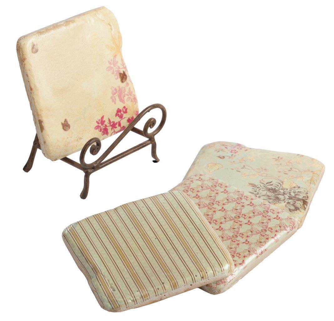 Купить Набор декоративных подставок под горячее Tuliche в интернет магазине дизайнерской мебели и аксессуаров для дома и дачи