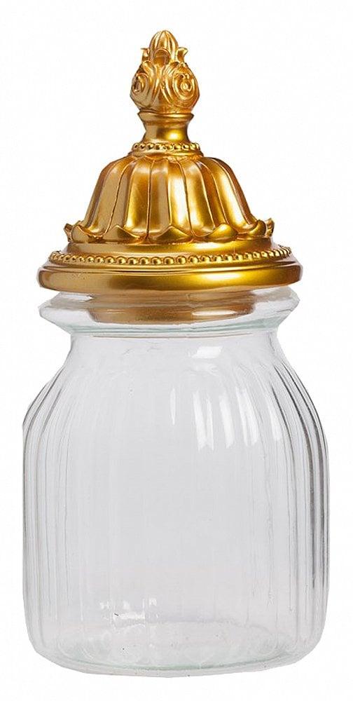 Декоративная банка Torreta Gold