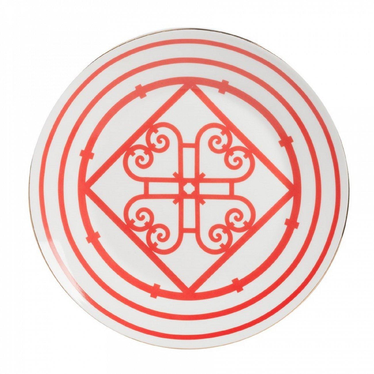 Купить Большая тарелка Skarletti в интернет магазине дизайнерской мебели и аксессуаров для дома и дачи