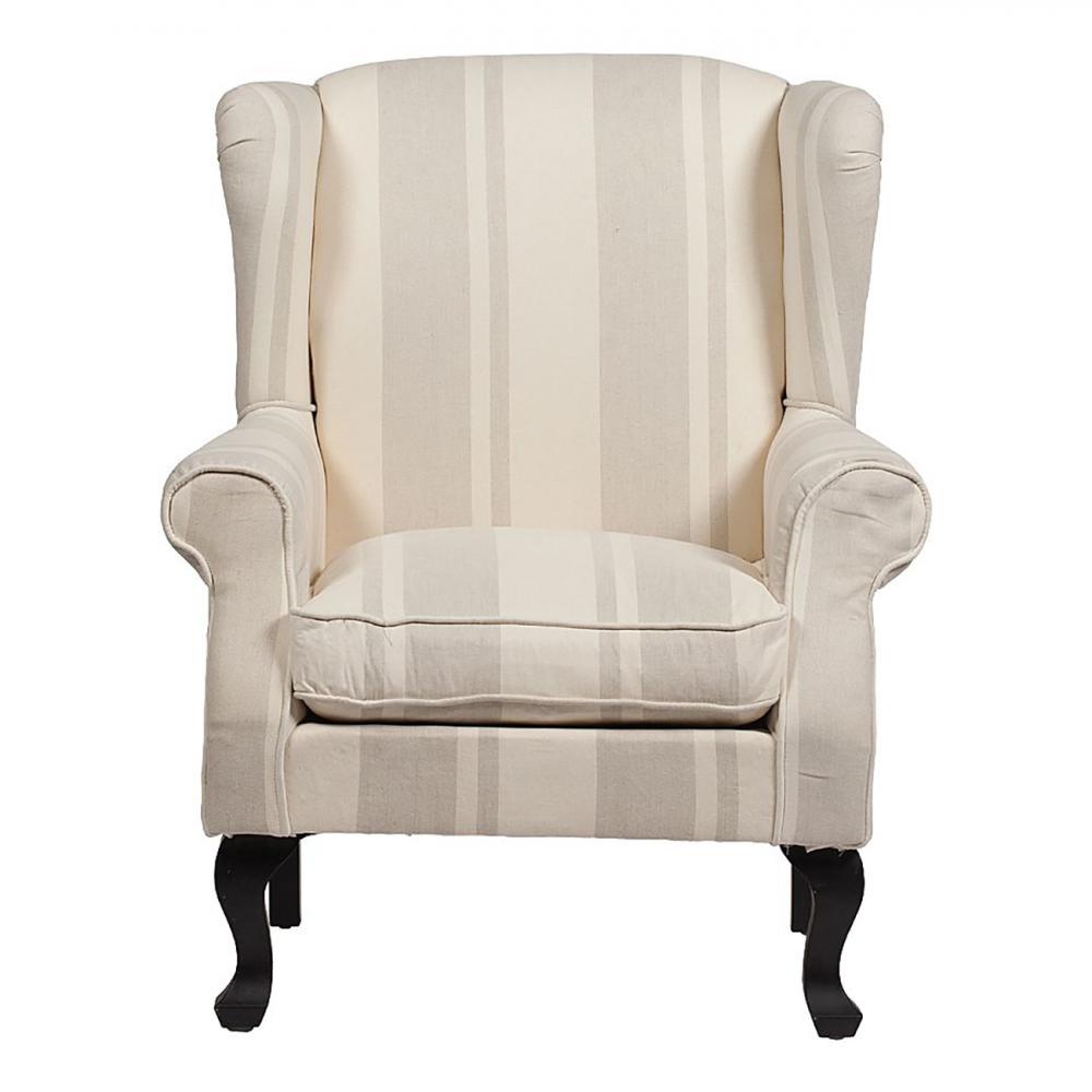 Кресло AlbertoКресла<br><br><br>Цвет: Бежевый<br>Материал: деревянный каркас (береза), ткань (лен)<br>Вес кг: 17<br>Длина см: 77<br>Ширина см: 75<br>Высота см: 111