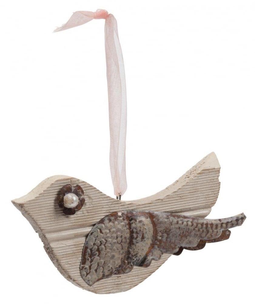 Фото Элемент декора подвесной птичка Camellia. Купить с доставкой