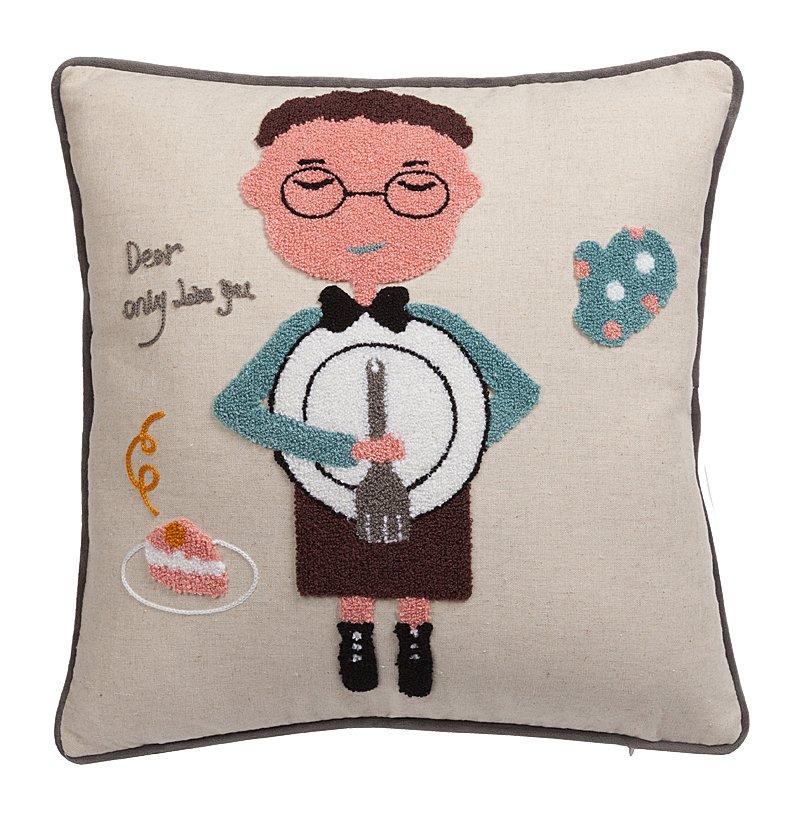 Декоративная подушка в подарок папе Daddy, DG-D-PL363