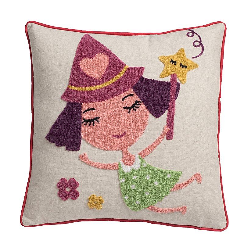 Купить Декоративная подушка в подарок девушке Little Girl в интернет магазине дизайнерской мебели и аксессуаров для дома и дачи