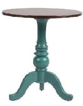 Журнальный столик Lorenco DG-HOME Журнальный столик Lorenco — это достаточно  практичный предмет мебели и показатель  безупречного стиля его хозяина. Изысканное  сочетание голубого основания и коричневой  столешницы из березы придают предмету мебели  смелый, но в то же время несколько винтажный  вид. Столик, помимо своего прямого назначения,  может выполнять массу полезных функций:  он может быть местом хранения корреспонденции,  подставкой для телефона, фоторамки, вазы  или просто служить предметом декора.