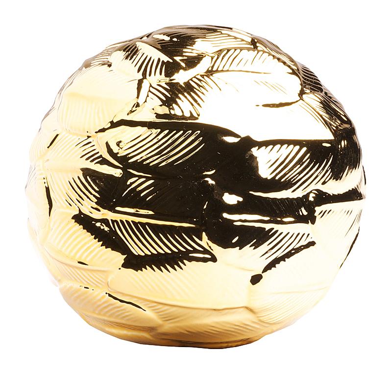 Купить Декоративный шар Gold в интернет магазине дизайнерской мебели и аксессуаров для дома и дачи