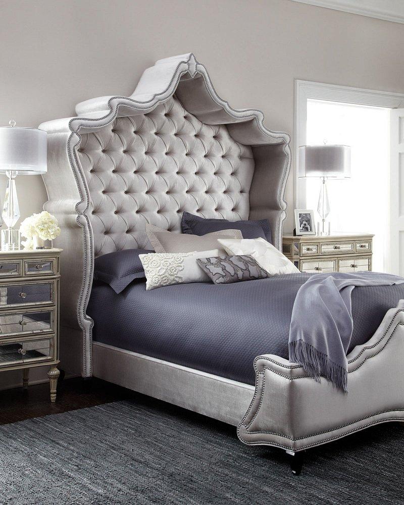 Кровать Imperial 180х200 Серый