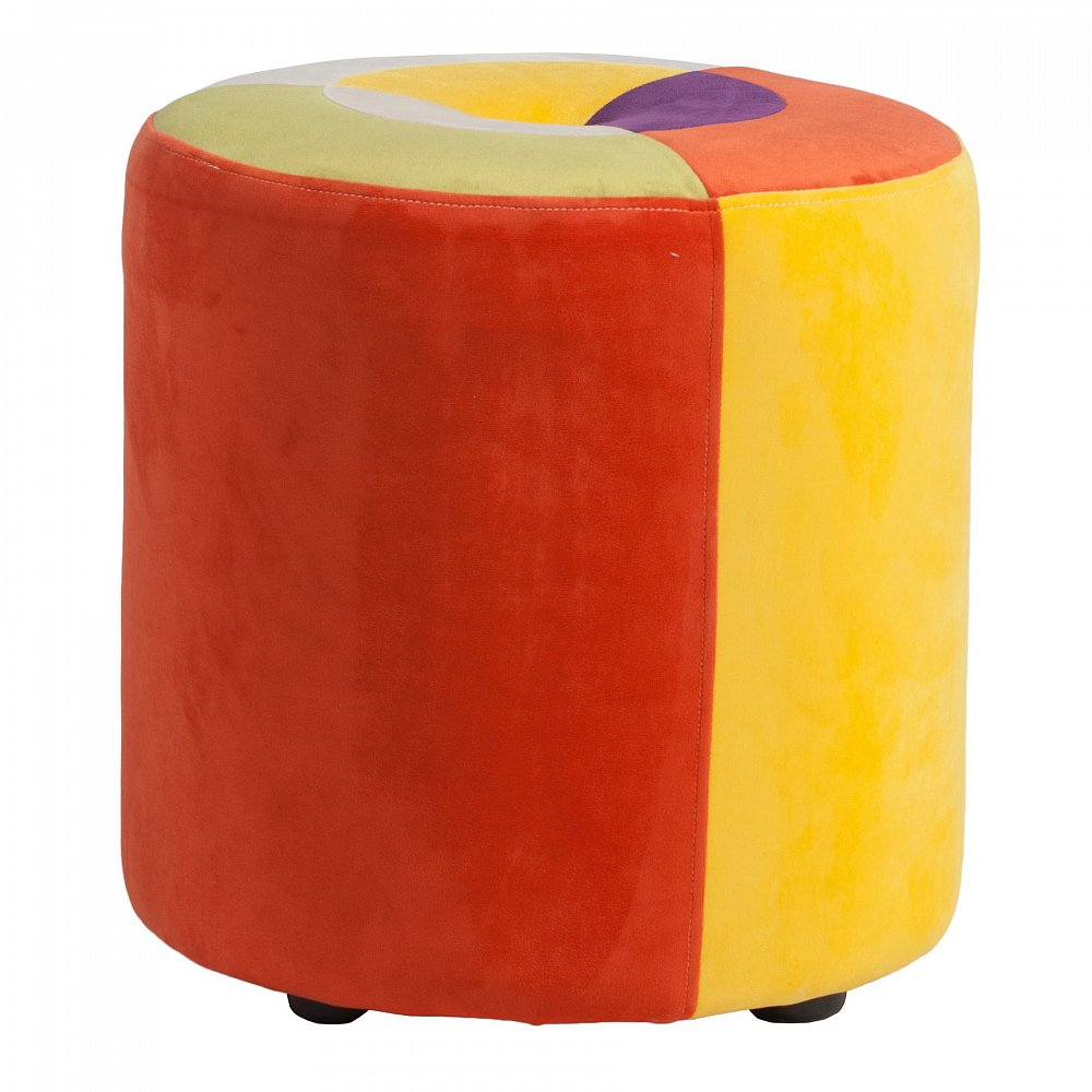 Пуф Parrandero SolarПуфы и оттоманки<br>Пуф Parrandero Solar цилиндрической формы смотрится <br>очень стильно и изысканно. Он визуально <br>сгладит остроту углов в интерьере, привнесет <br>в него яркие краски и очарование. Такой <br>предмет мебели станет прекрасным украшением <br>как спальни для взрослых, так и детской <br>комнаты. Благодаря сочетанию нескольких <br>цветов он прекрасно будет гармонировать <br>с остальной мебелью и оформлением вашего <br>дома в целом.<br><br>Цвет: Разноцветный<br>Материал: Поролон, Ткань<br>Вес кг: 5<br>Длина см: 38<br>Ширина см: 38<br>Высота см: 40